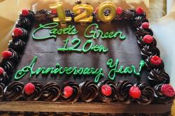 Castle Green 120th Anniversary cake