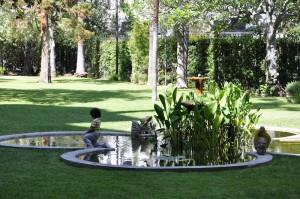 Castle Green fountain