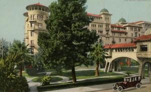 Castle Green postcard